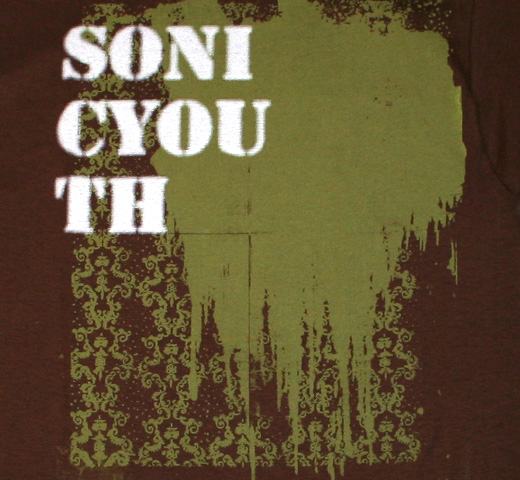 Sonic Youth / Rather Ripped Tee (Brown)