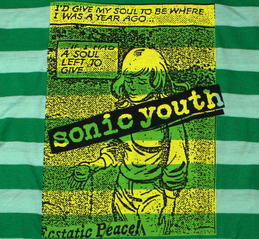 Sonic Youth / If I Had A Soul Left To Give Tee