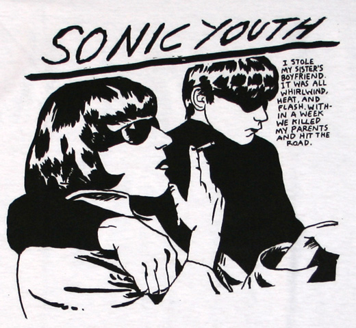 Sonic Youth / Goo Tee (White)