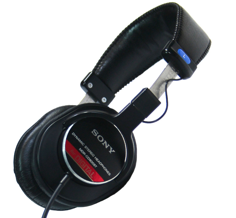 【SONY】 Monitor Headphones [MDR-CD900ST]
