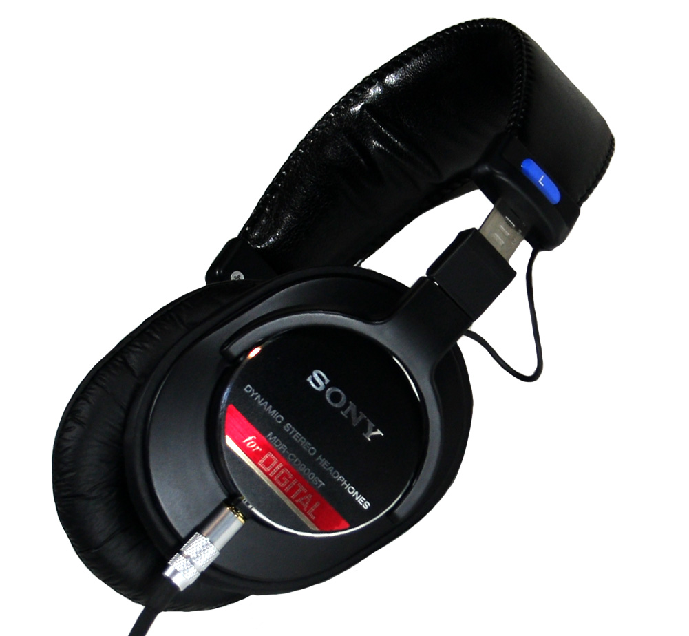 [SONY] Monitor Headphones (MDR-CD900ST) [Custom]