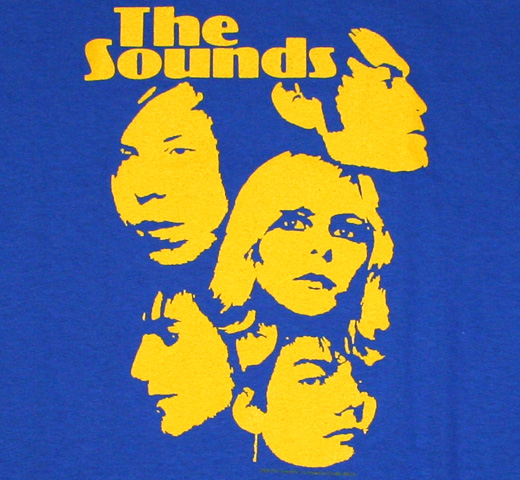The Sounds / Living In America Tee