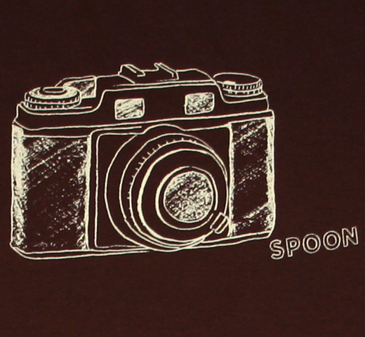 Spoon / Camera Tee (Brown)