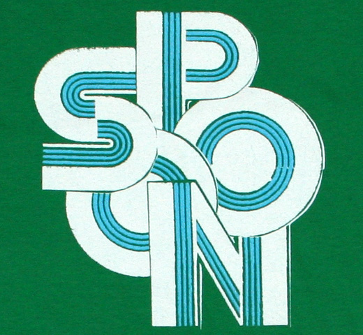 Spoon / Green Logo Tee