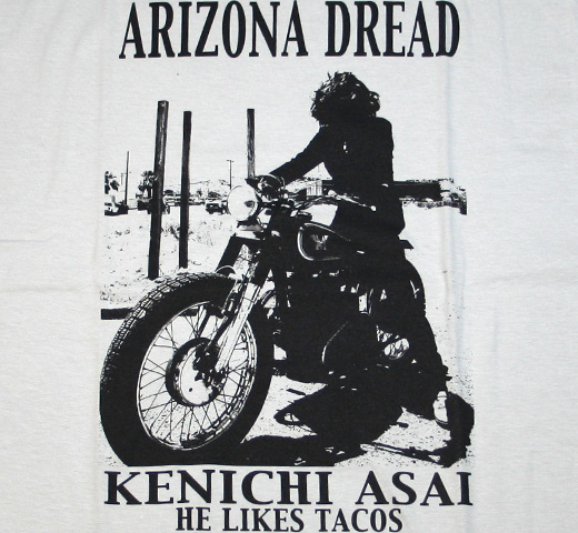 Arizona Dread Tee (Silver Gray)
