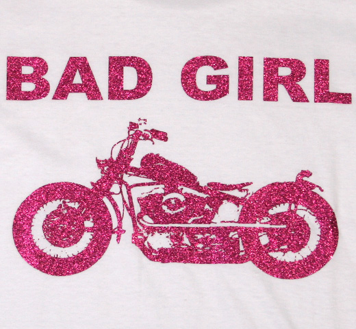 【SALE 30% OFF】 Jude / Bad Girl Bike Tee