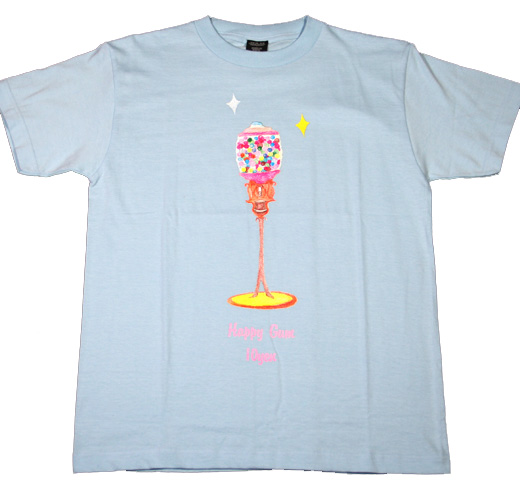 【SALE 30% OFF】 Jude / Happy Gum Tee (Light Blue)