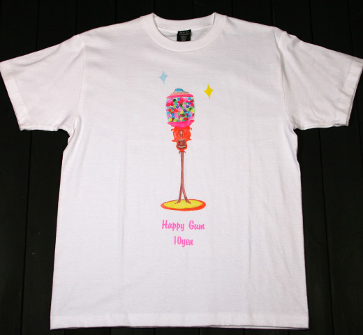 【SALE 30% OFF】 Jude / Happy Gum Tee (White)