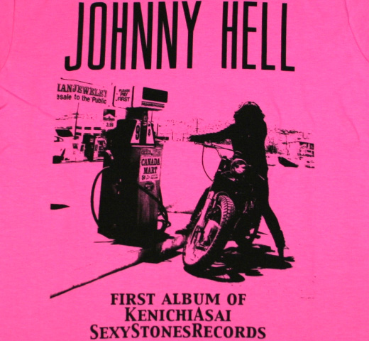 Johnny Hell Tee(Type2) (Pink)