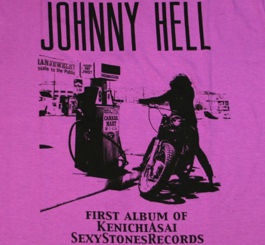 Johnny Hell Tee (Type2) (Violet)