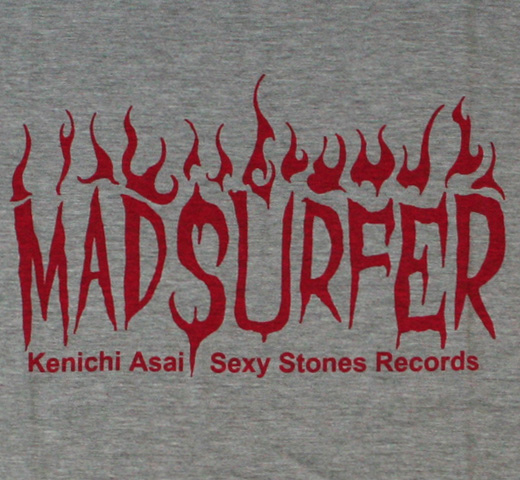 Mad Surfer Tee (Melange Grey/L)