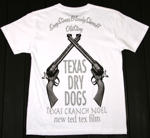 【SALE 30% OFF】 Jude / Texas Dry Dogs Tee (White)