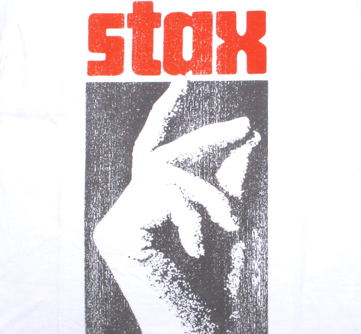 Stax Records / Logo Tee (White)