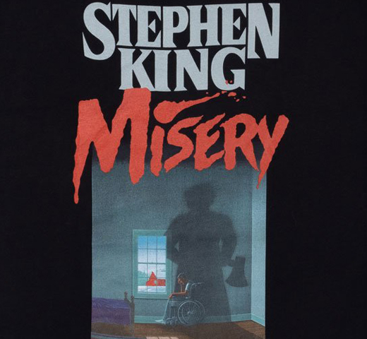 [Out of Print] Stephen King / Misery Tee (Black)