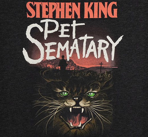 [Out of Print] Stephen King / Pet Sematary Tee (Vintage Black)