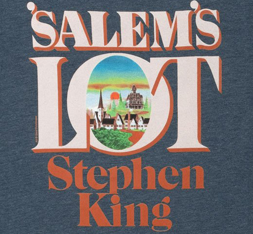 [Out of Print] Stephen King / 'Salem's Lot Tee (Indigo)