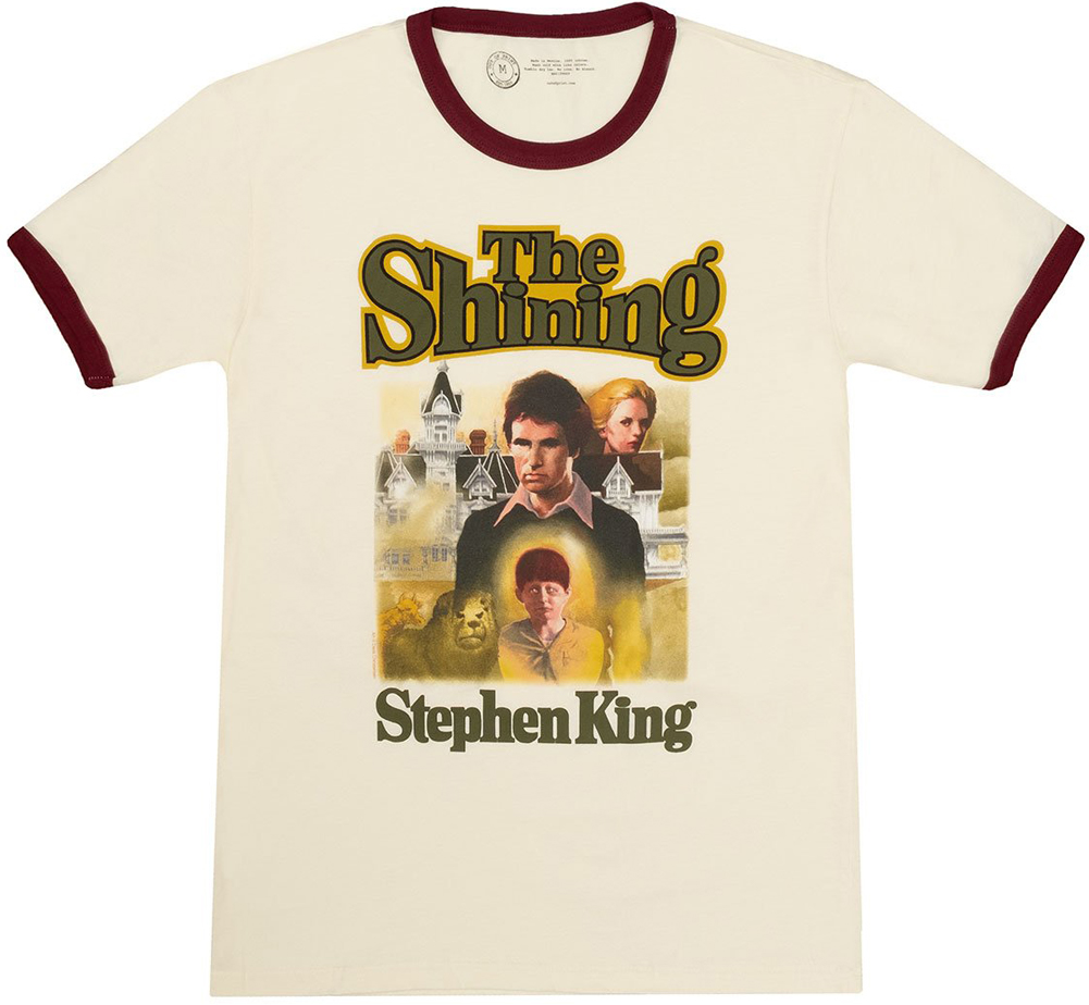 [Out of Print] Stephen King / The Shining Ringer Tee (Vintage White)