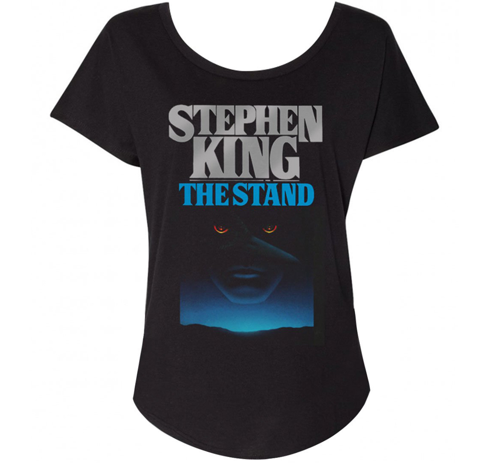 [Out of Print] Stephen King / The Stand Womens Relaxed Fit Tee (Black)