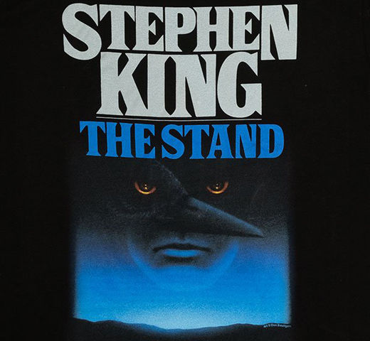 [Out of Print] Stephen King / The Stand Tee (Black)