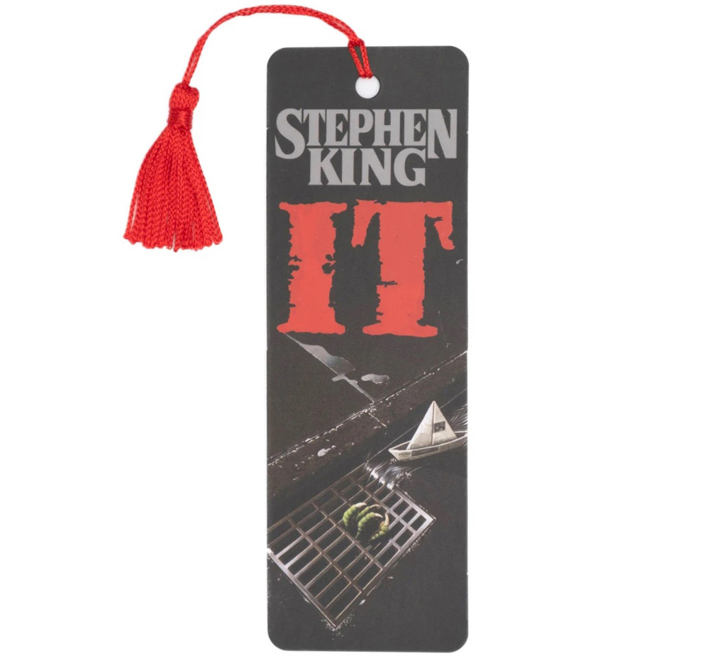 [Out of Print] Stephen King / It Bookmark