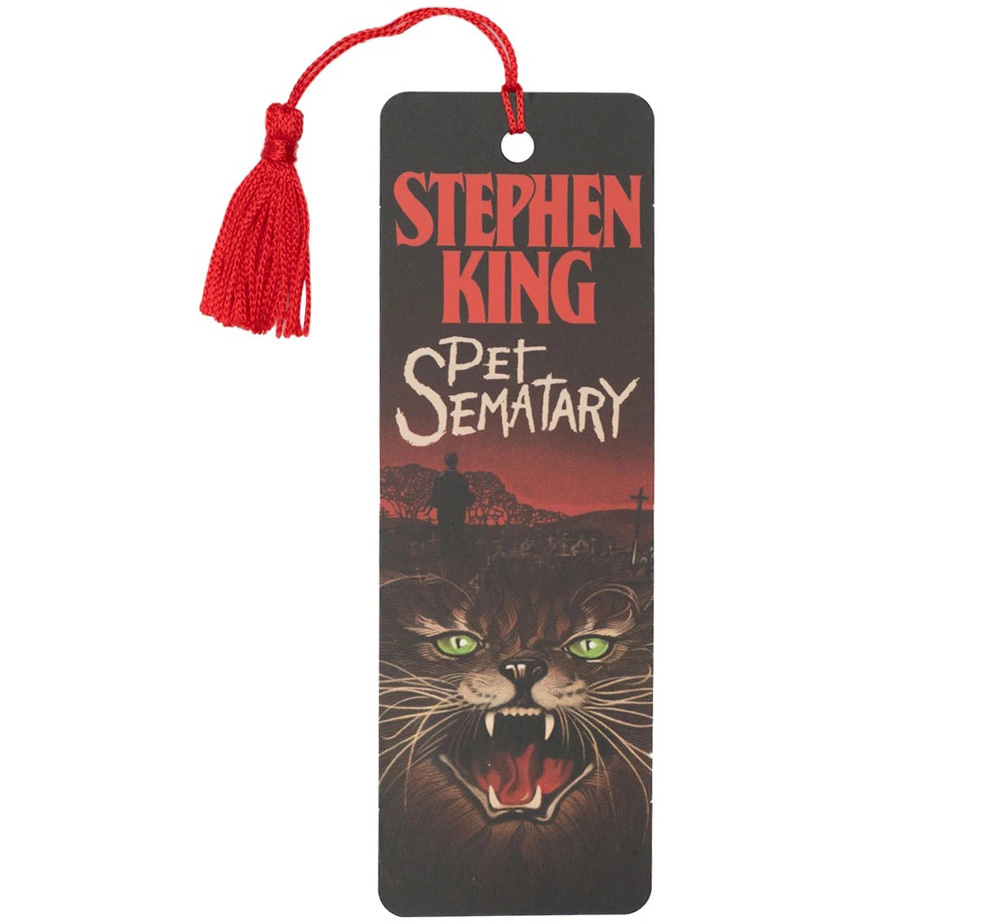 [Out of Print] Stephen King / Pet Sematary Bookmark