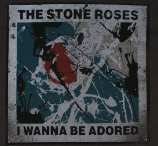 【Amplified】 The Stone Roses / I Wanna Be Adored  Tee (Charcoal)