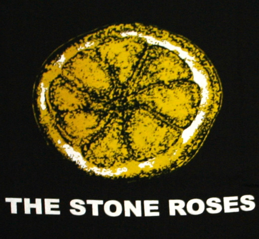 【Worn By】 The Stone Roses / Lemon Tee (Black)