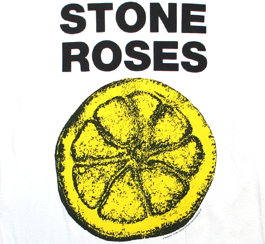 The Stone Roses / Lemon Tee 2 (Vintage White)