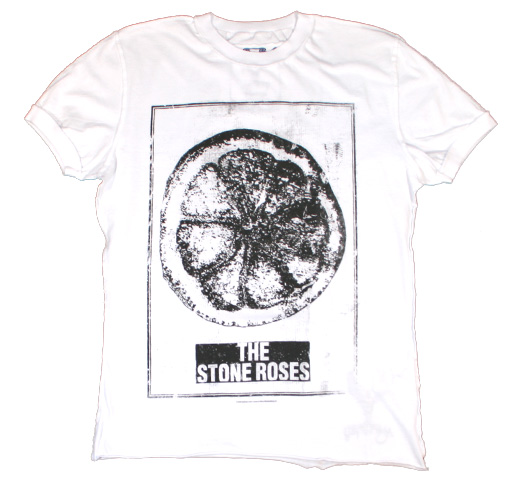 【Amplified】 The Stone Roses / Made of Paper Tee (White)