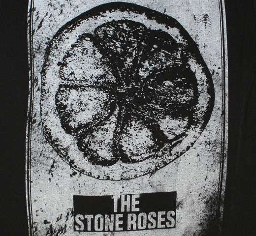 【Amplified】 The Stone Roses / Made of Paper Tee (Charcoal)
