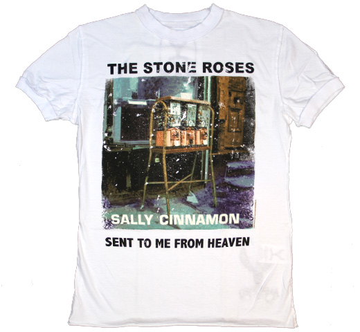 【Amplified】 The Stone Roses / Sally Cinnamon Tee (White)