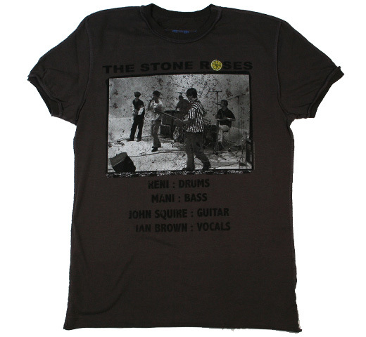 【Amplified】 The Stone Roses / The Band Tee (Charcoal)