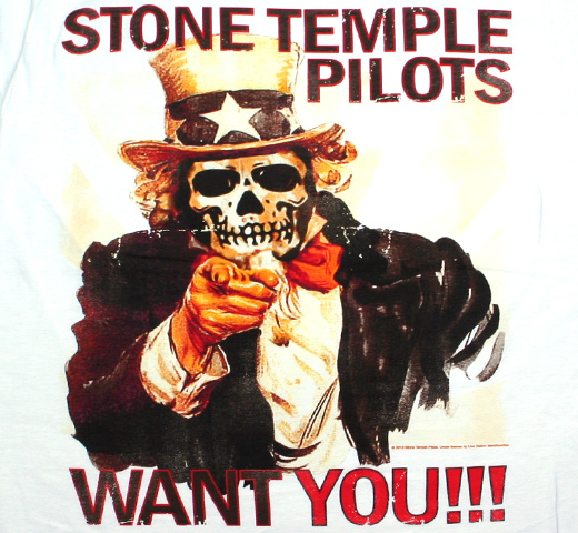 Stone Temple Pilots / Want You!!! Tee (White)