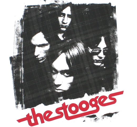 The Stooges / Band Members Tee 2 (White)