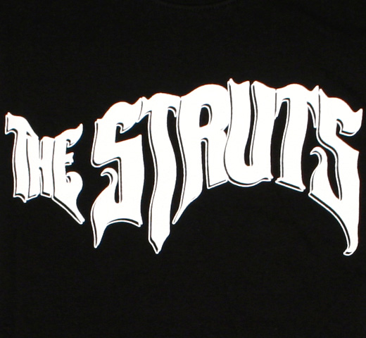 The Struts / Logo Tee (Black)