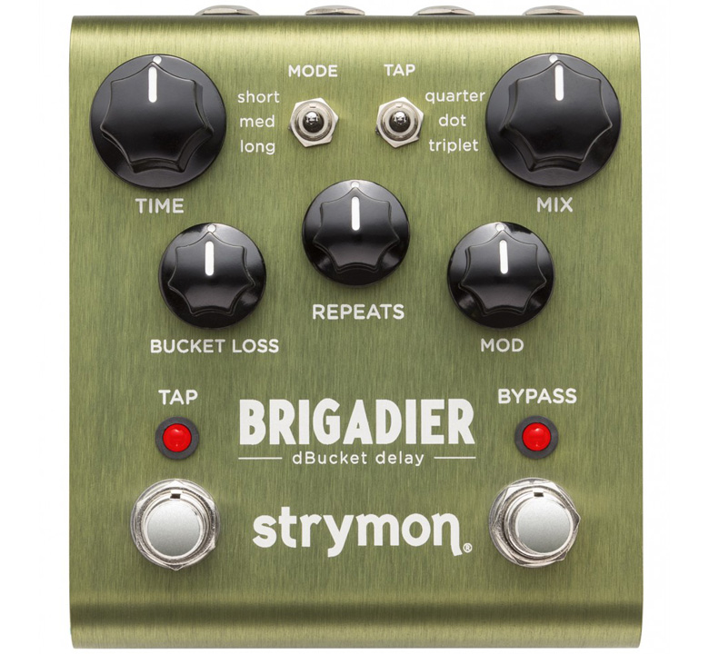 [strymon] BRIGADIER (dBucket delay)