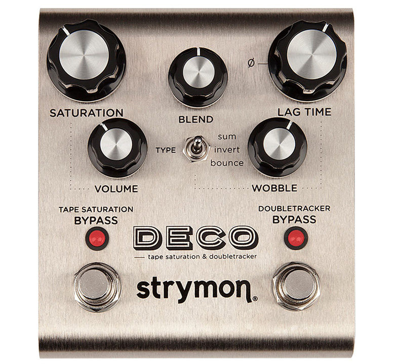 【strymon】 DECO [tape saturation & doubletracker]