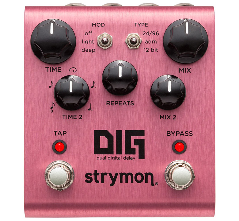 [strymon] DIG (dual digital delay)