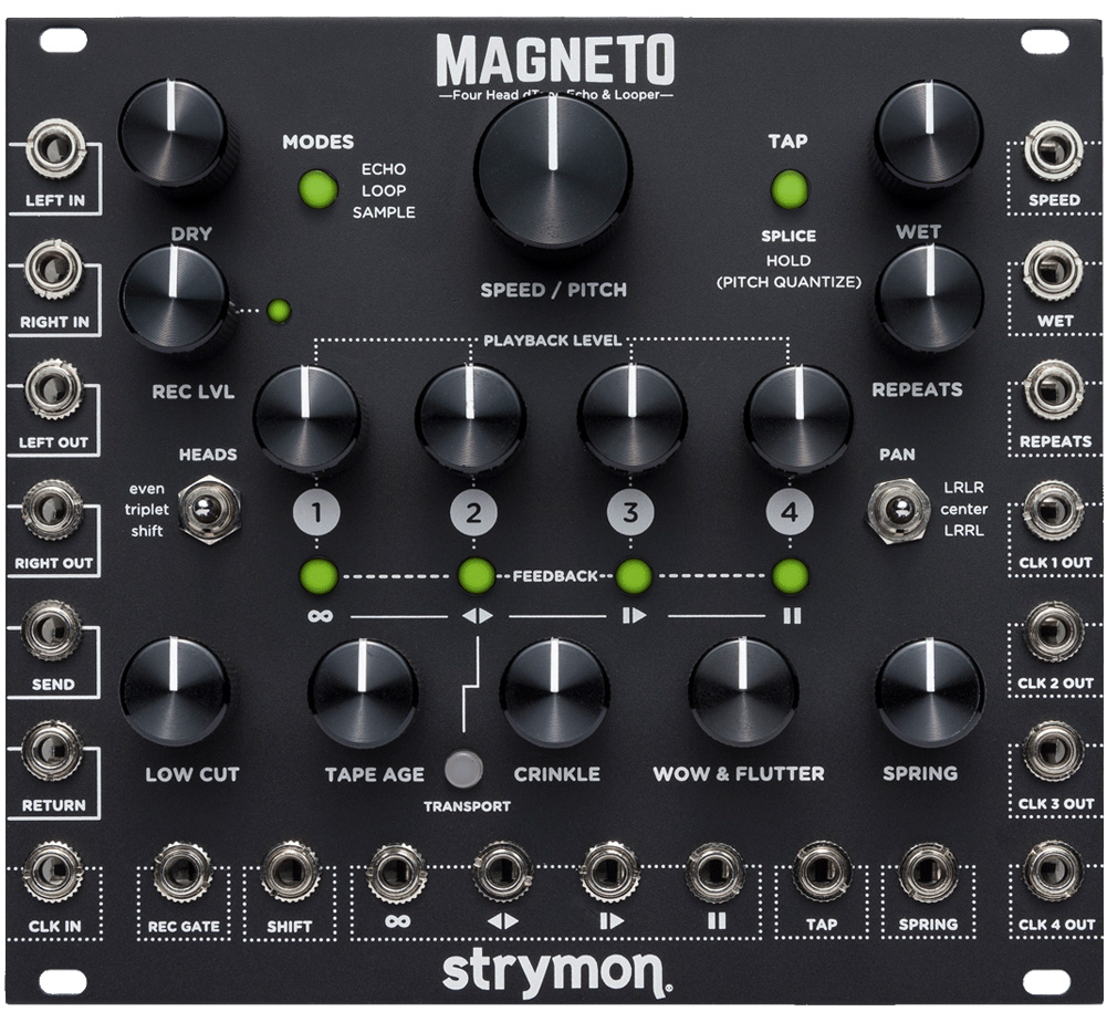 【strymon】 MAGNETO [Four Head dTape Echo & Looper]