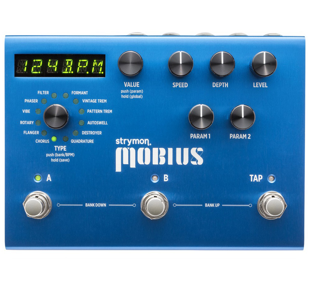 【strymon】 Mobius [Multidimensional Modulation]
