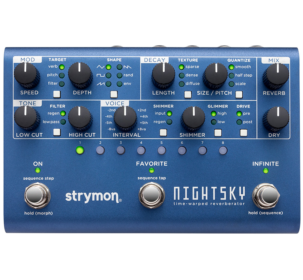 [strymon] NightSky (Time-Warped Reverberator)