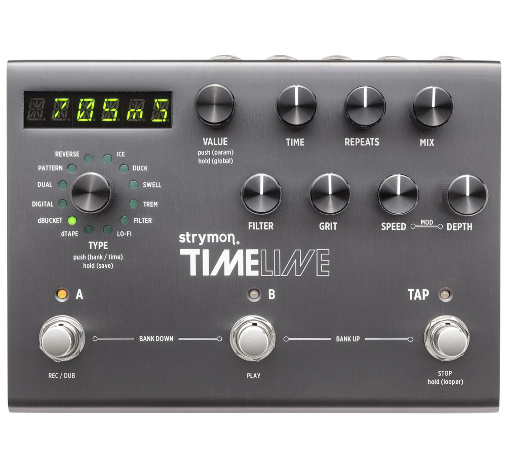 【strymon】 TimeLine [Multidimensional Delay]