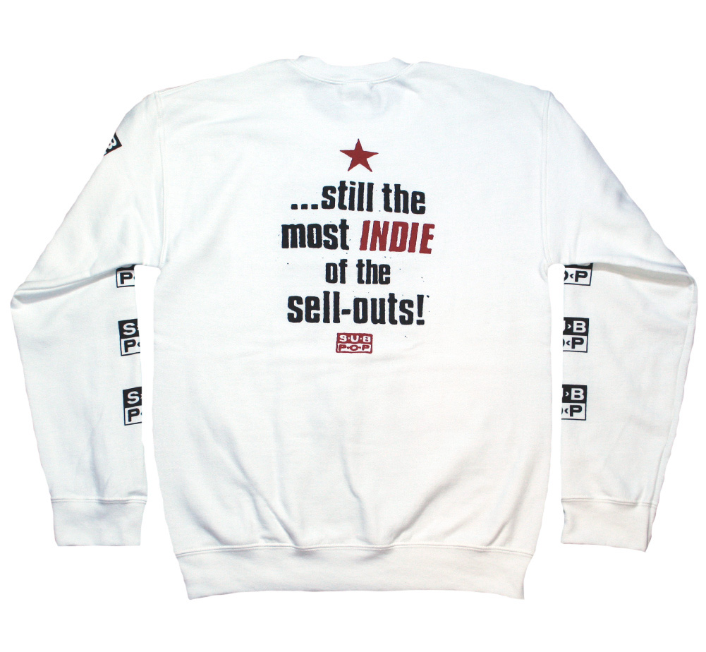 Sub Pop Records / Old Building Crew Sweat (White)