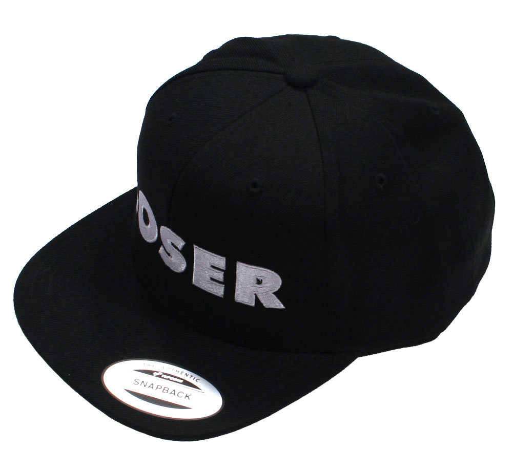 Sub Pop Records / Loser Snap Back Cap (Black)