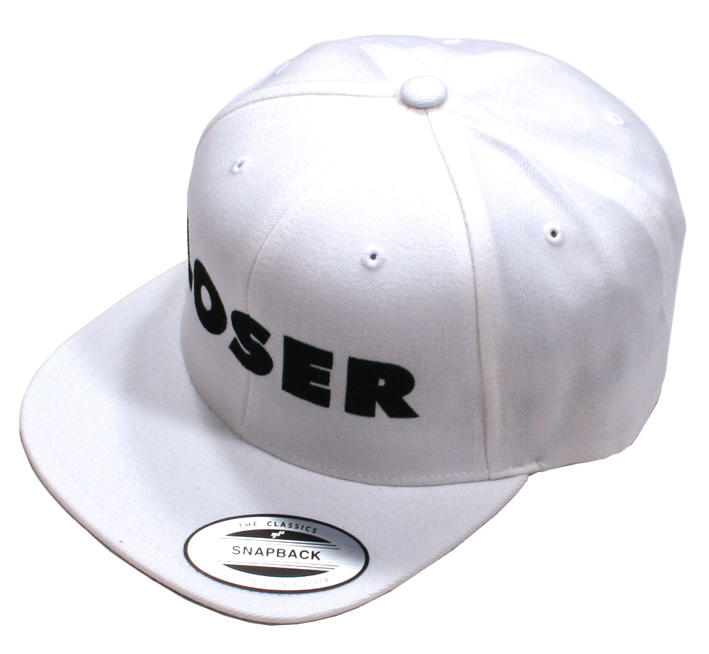 Sub Pop Records / Loser Snap Back Cap (White)