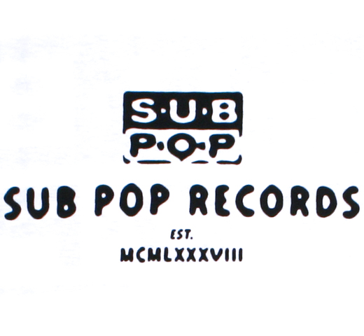 Sub Pop Records / Est 1988 Tee (White)