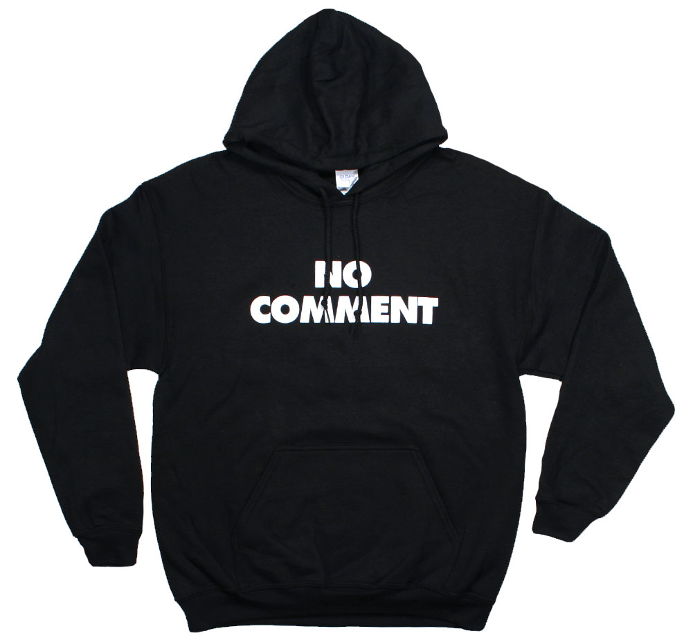 Sub Pop Records / No Comment Pullover Hoodie (Black)