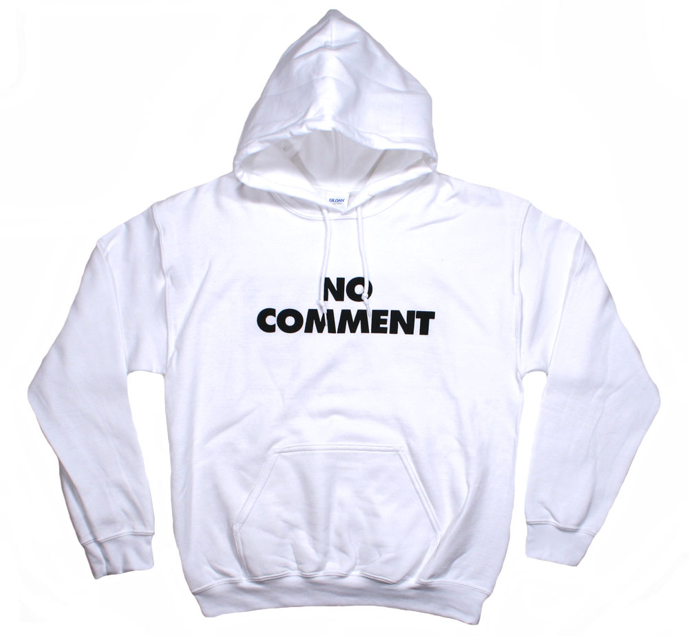 Sub Pop Records / No Comment Pullover Hoodie (White)