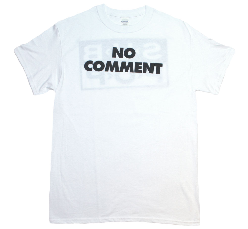 Sub Pop Records / No Comment Tee (White)