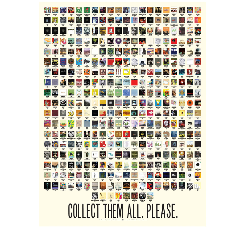 Sub Pop Records / COLLECT THEM ALL. PLEASE. Poster